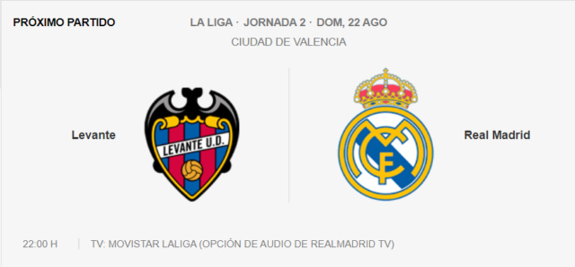 Levante - Real Madrid Partid25