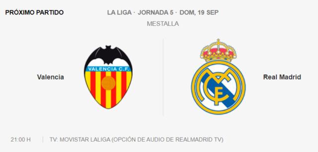 Valencia  Real Madrid Partid27