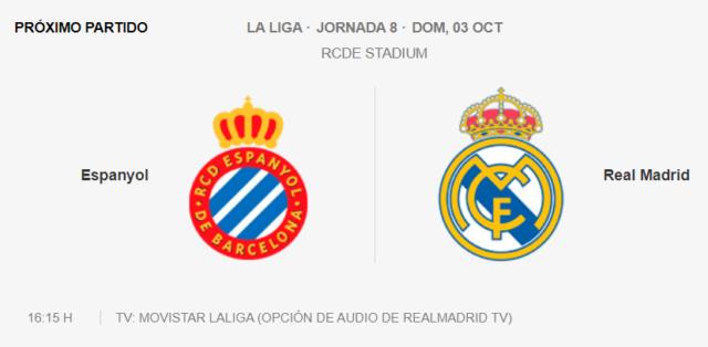Espanyol - Real Madrid Partid30