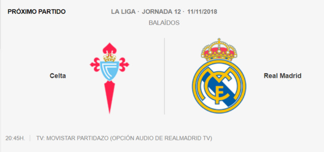 Celta - Real Madrid Pat210
