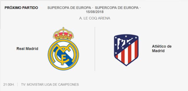 Supercopa de EUROPA  Real Madrid-Atlétic0 Sup10