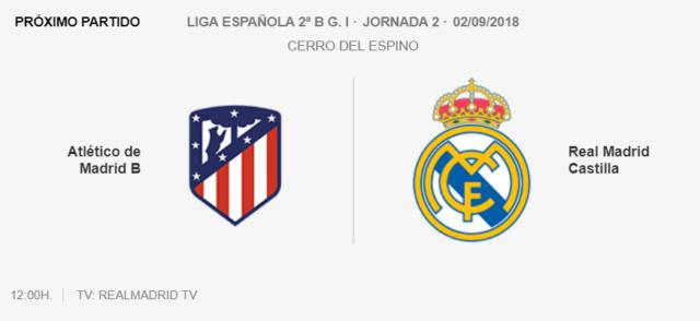 Temporada 2018-2019 Cantera Real Madrid Vin10