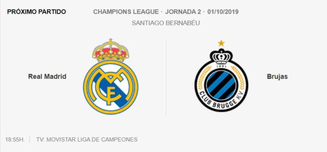 Real Madrid - Club Brujas Vru10