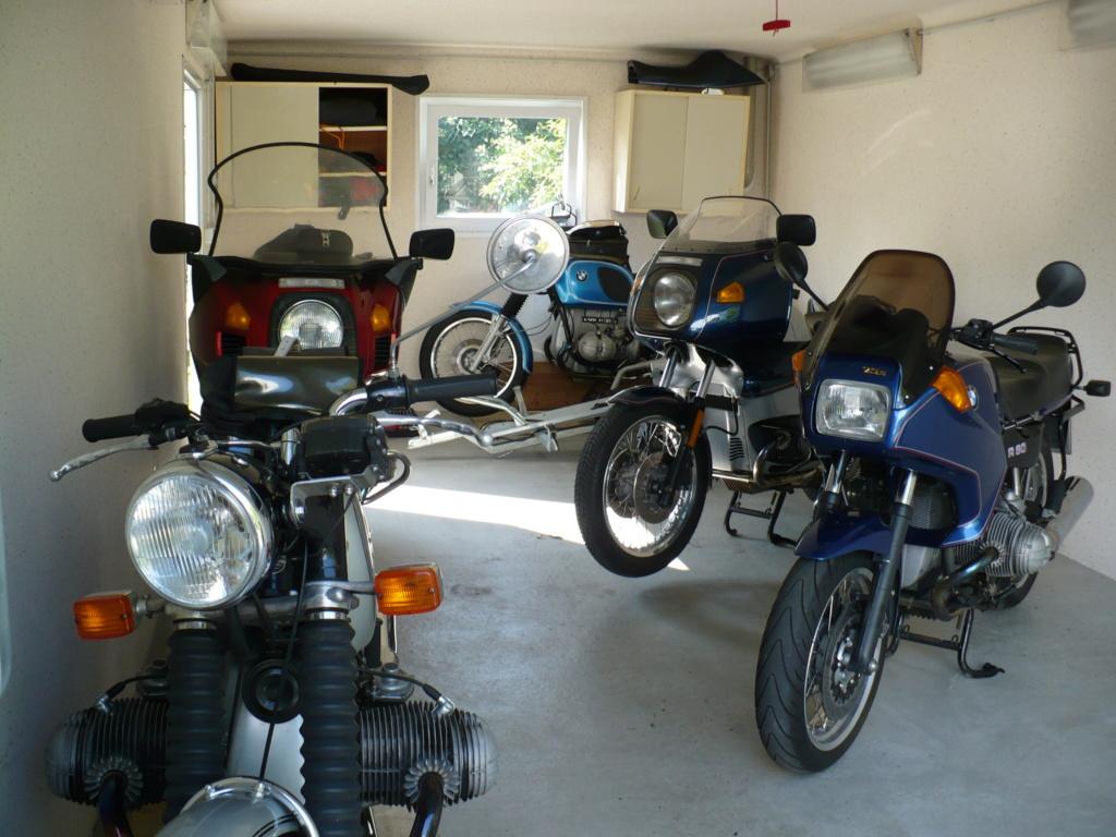 Le nouveau garage est plein P1020510