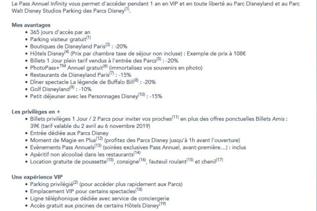 Augmentation des tarifs de Disneyland Paris - Page 37 Infini10