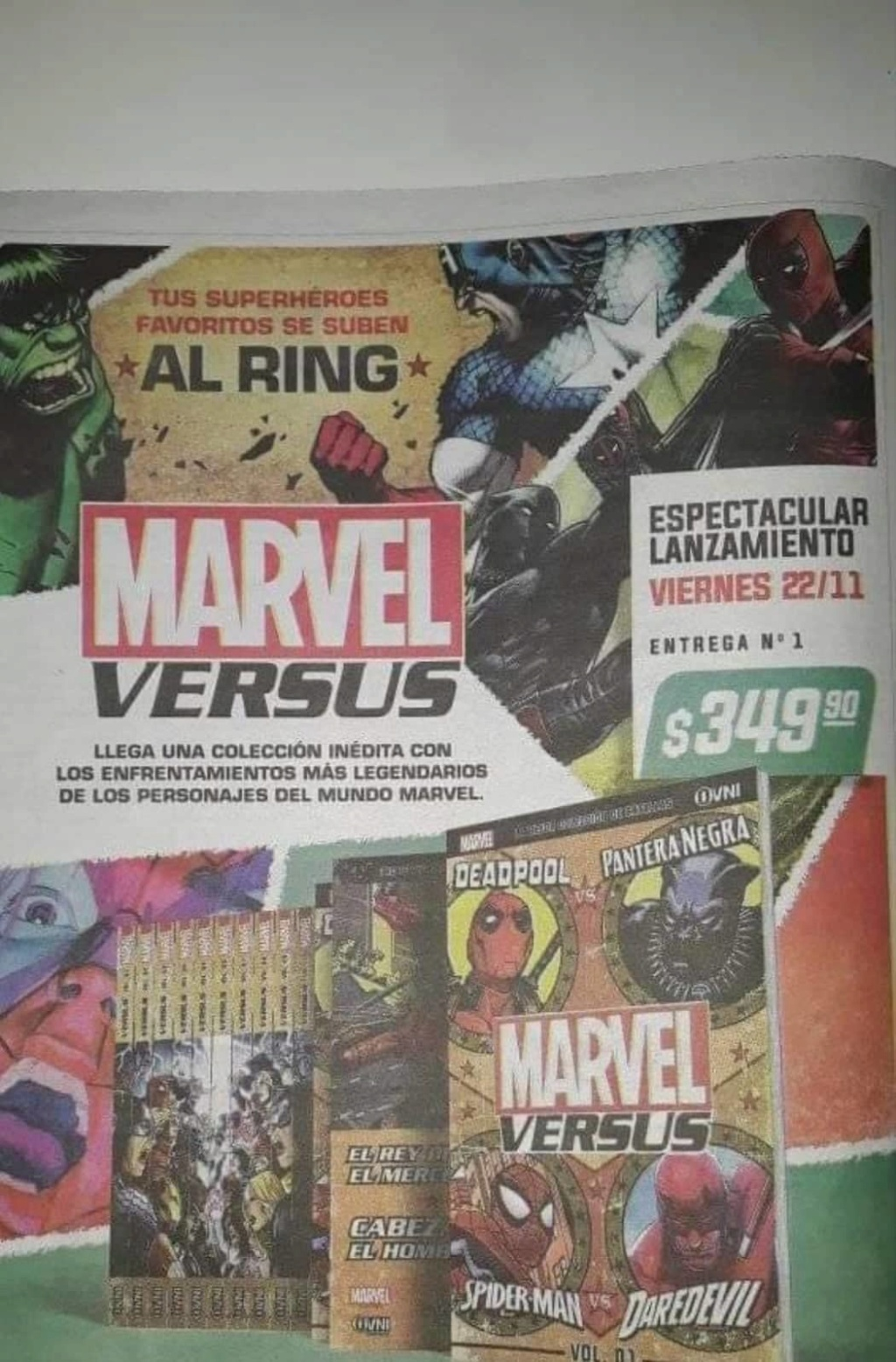 01 - [Clarín - Ovni-Press] Colección Marvel Versus  Diario10
