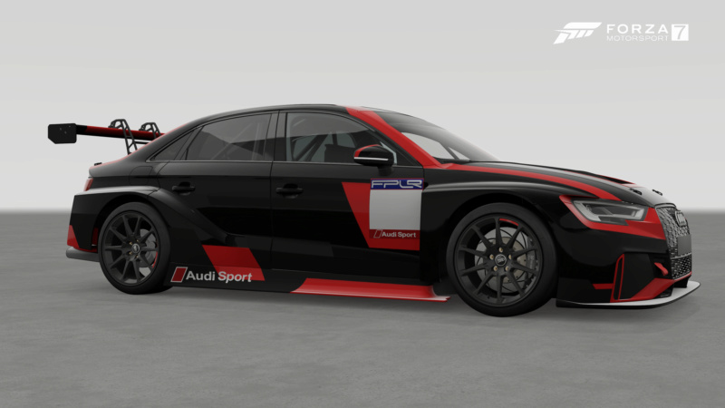 Audi RS3 LMS Cup - Livery Regulations Forza_16