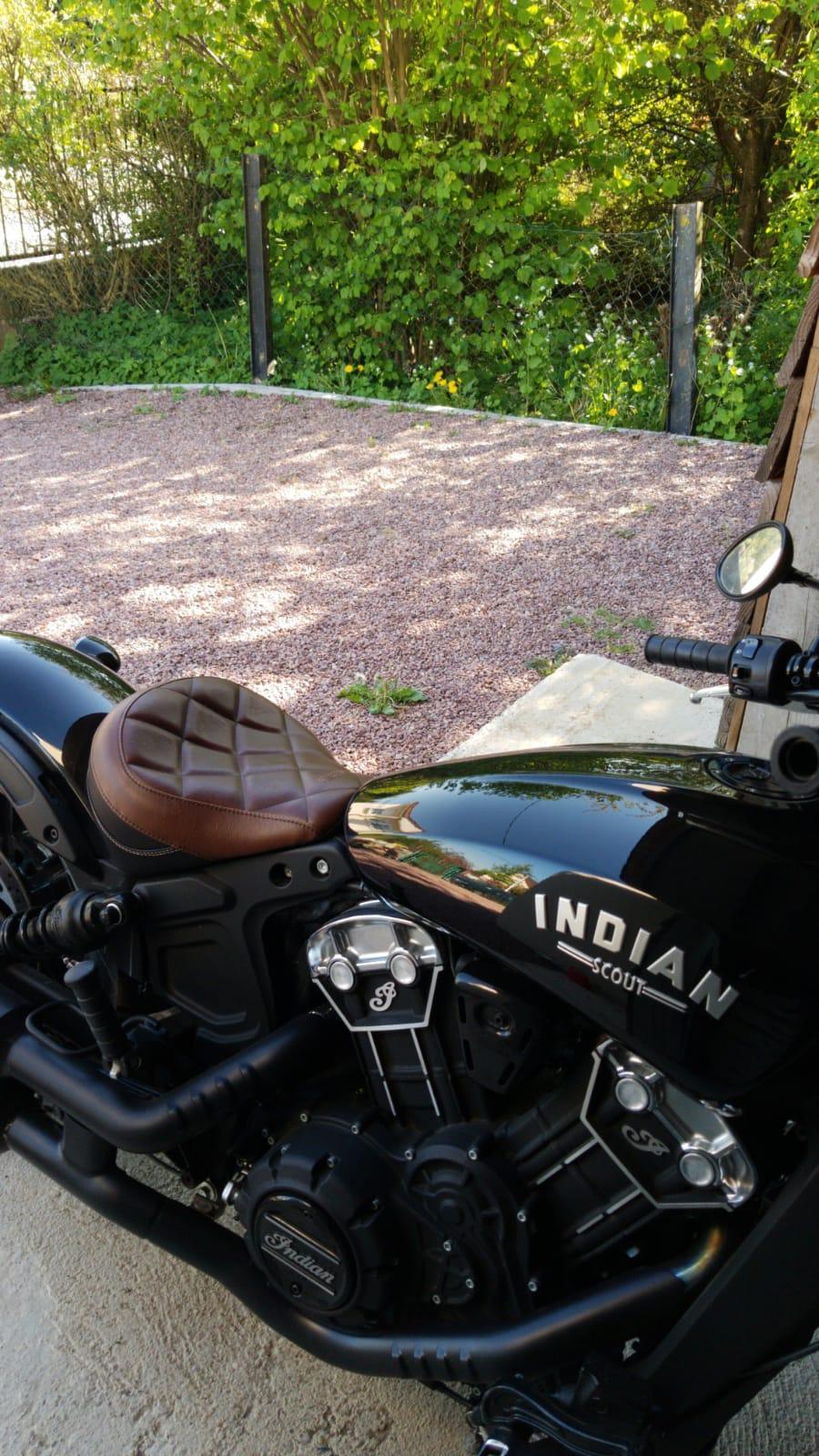 Selle mustang Scout Bobber Whatsa10