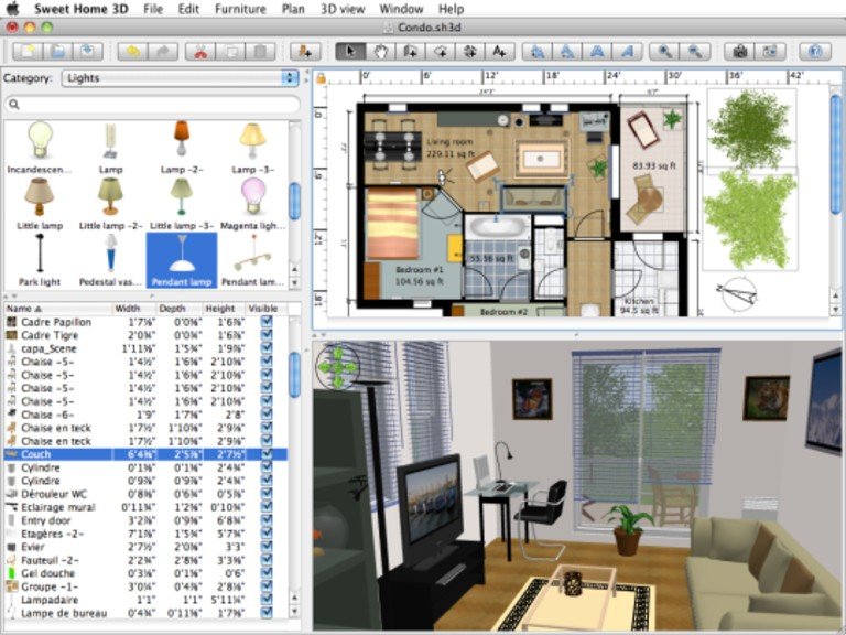 برنامج Sweet Home 3D لتصميم المنازل Sweet-11
