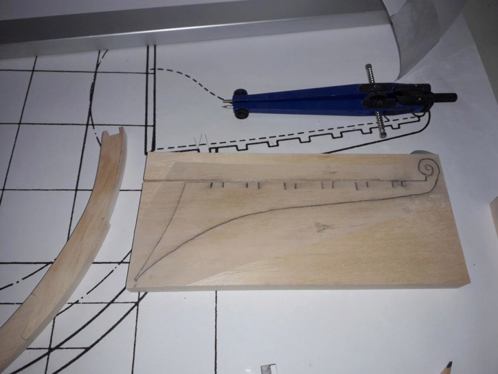 Golden Hind 1:25 nach Plänen von Höckel gebaut von Protector 20191222