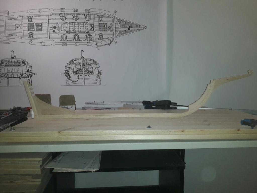 Golden Hind 1:25 nach Plänen von Höckel gebaut von Protector 20191233