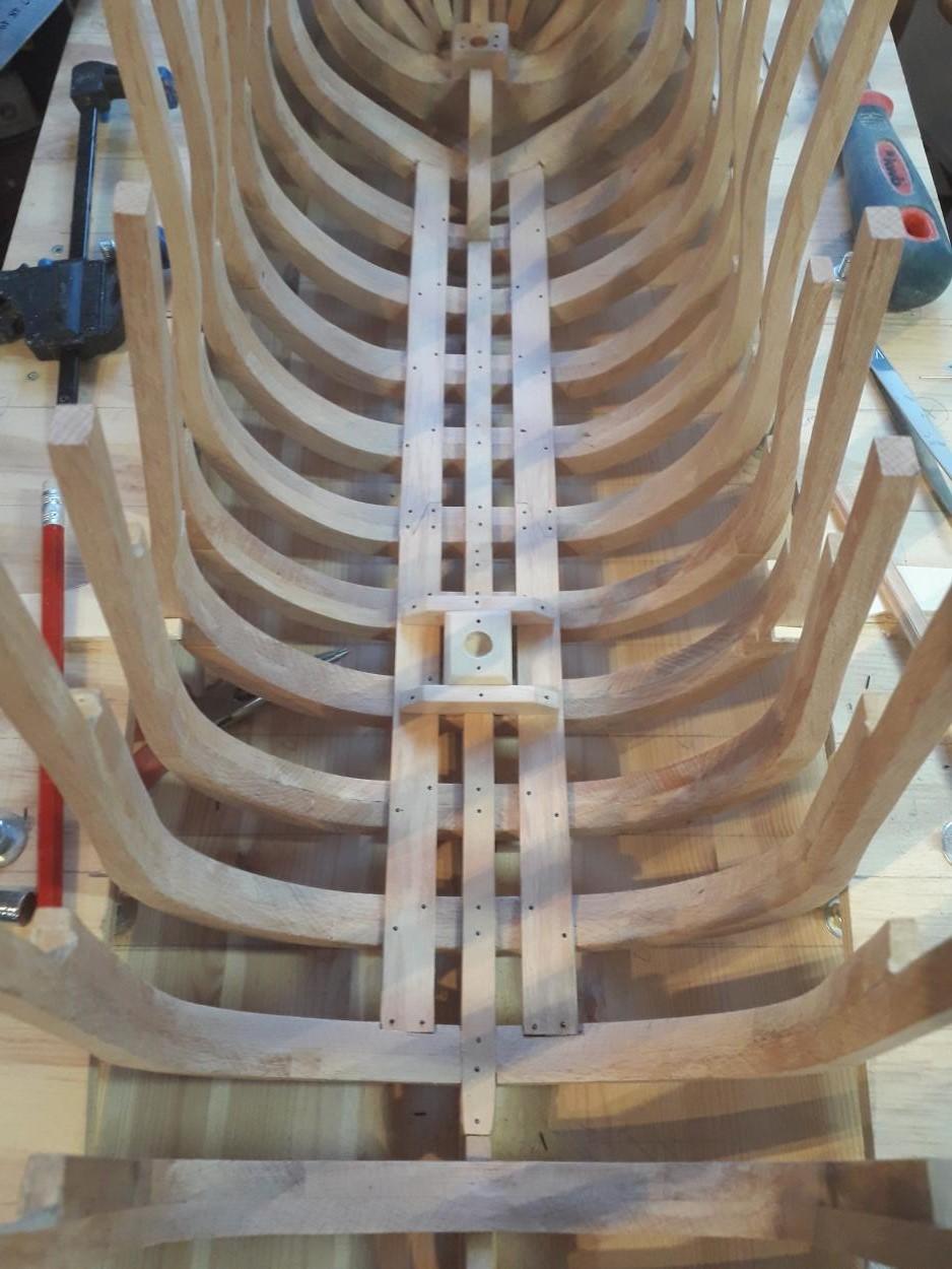 Golden Hind 1:25 nach Plänen von Höckel gebaut von Protector - Seite 2 20200312