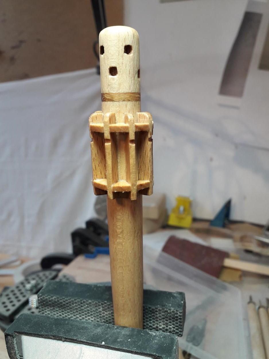 Golden Hind 1:25 nach Plänen von Höckel gebaut von Protector - Seite 3 20200631