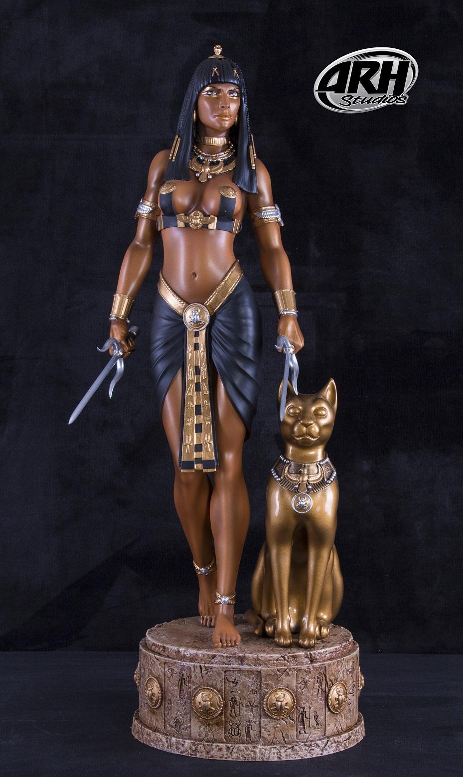 Estatua de Anck Su Namun de ARH Studios 00110