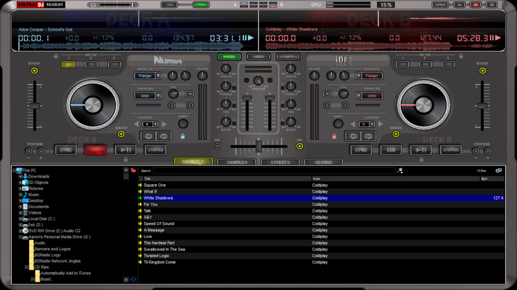 Virtual DJ Software Virtua10