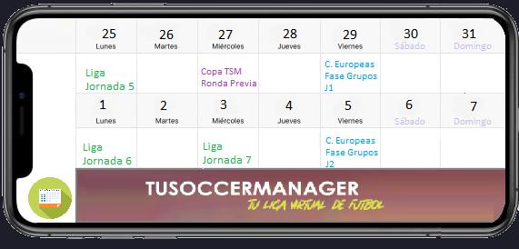 TuSoccerManager—Liga virtual de fútbol en español Quince16