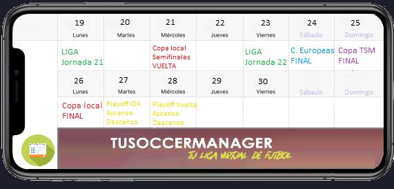 TuSoccerManager—Liga virtual de fútbol en español Quince26