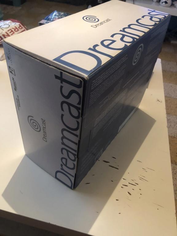 Boîte Dreamcast pal comme neuve  392f8110