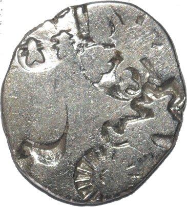 Karshapana silver, Magadha, G/H-425 44311