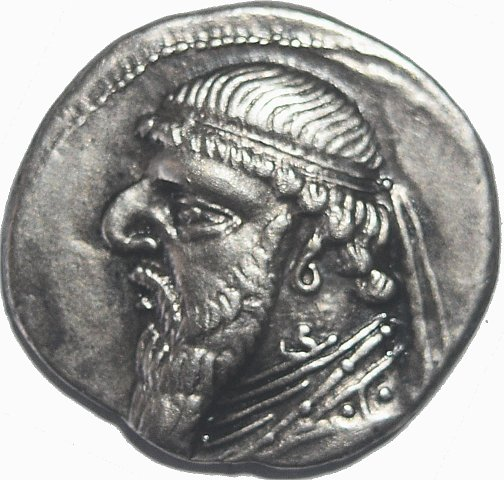Reyes de Parthia. Dracma de Mithridates II. 109-96/5 a.C. 44510