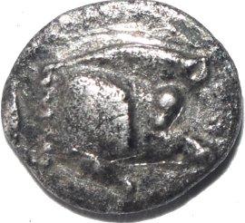 1/24 estátera de Kyzicos (jabalí hacia la derecha) 46110