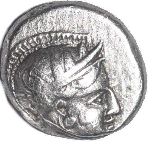 Dracma de plata, Filistea, Gaza. Ca. 450-400 a.C. 474a10