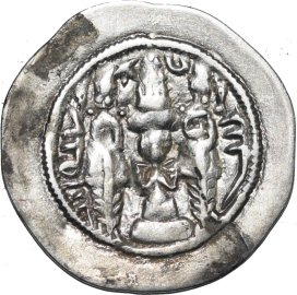 Dracma de Hormazd IV. 478a10