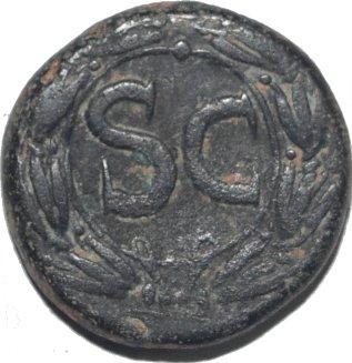 AE20 Provincial de Nerón. Antioquía de Orontes 481a10