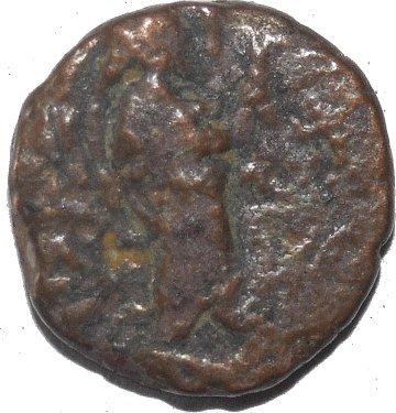 1/4 de Unidad de Khanisa I. Imperio Kushan 498a10