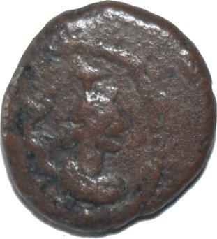 Dracma de Orodes III. Reino de Elam. Busto de Artemisa 499a10