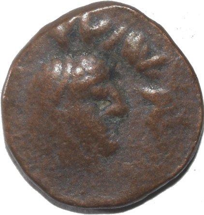 AE19 de Kujula Kadphises, probable imitación post-Kujula. 50011
