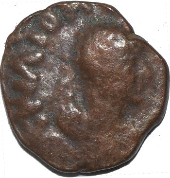 AE19 de Kujula Kadphises. Imperio Khusan 50110