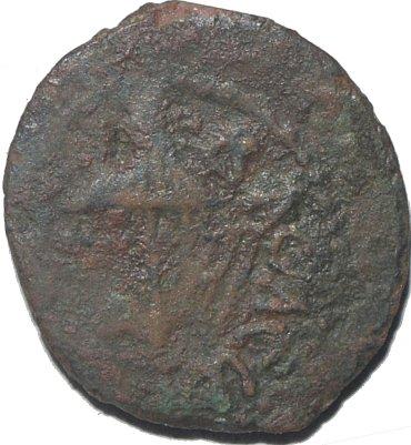 Prutah de Herodes Agripa I 504a10