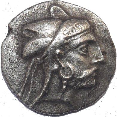 Bagadates I. Reyes de Persis. Inicios del Siglo 3 a.C. Dedicado al X Aniversario del Foro 512a10