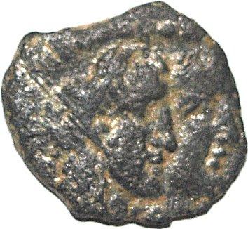 AE15 de Rabel II y Gamilat. Petra. Reino de los Nabateos. 51310