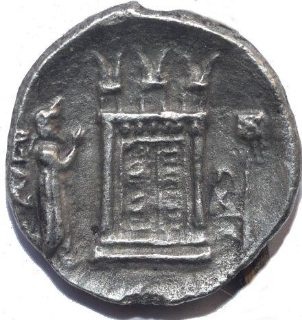 Bagadates I. Reyes de Persis. Inicios del Siglo 3 a.C. Dedicado al X Aniversario del Foro 513a10
