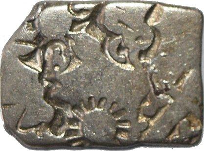 karshapana AR, Magadha, G/H- Type 450-series IVd. 52810