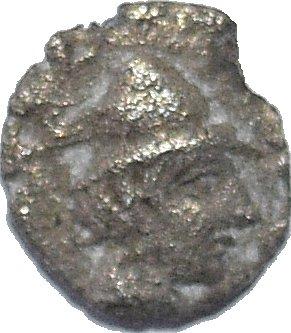 Hemióbolo de Kyzikos. 420 al 390 a.C. 53110