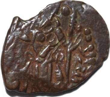 Unit de Varhran Kushanshah III, 549a11