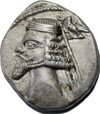 Dracma de Fraates IV. Ecbatana (Partia) 55511