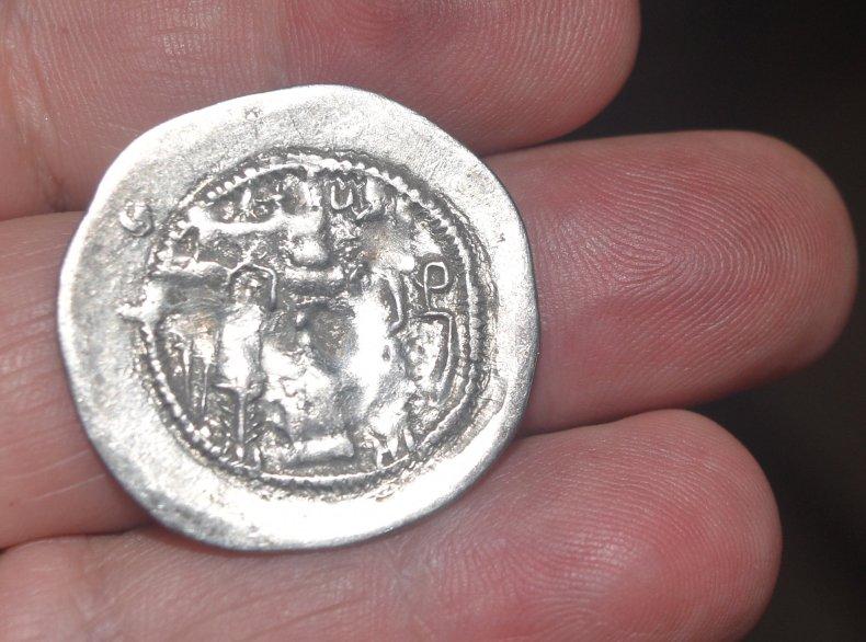 Dracma de Hormazd IV.  591a10