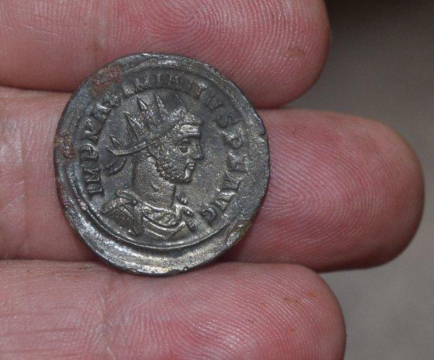 Aureliano de Maximiano Hércules. IOVI CONSERVAT AVGG. Júpiter a izq. Roma 59610