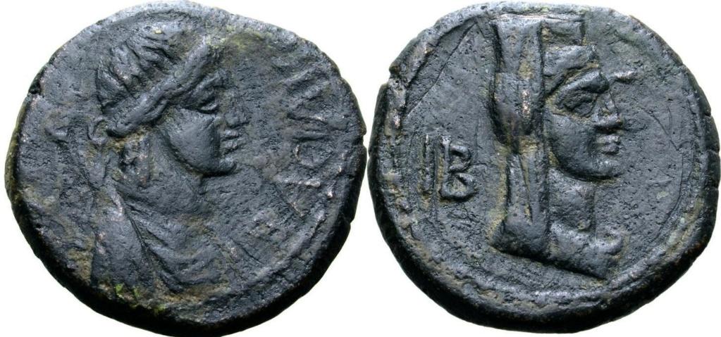 AE22 de Gepaepyris. Reino del Bósforo 59711