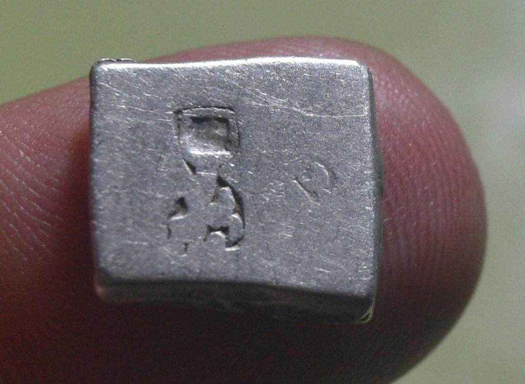 Karshapana plata. Imperio Mauryan. 601a10