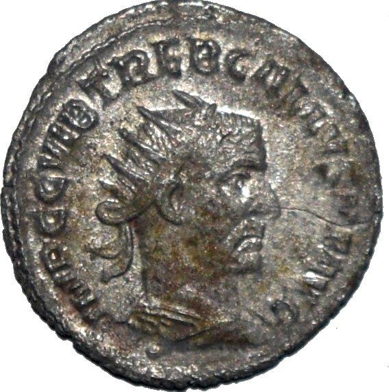 Antoniniano de Treboniano Galo. SAECVLLVM NOVVM. Antioquía 60710