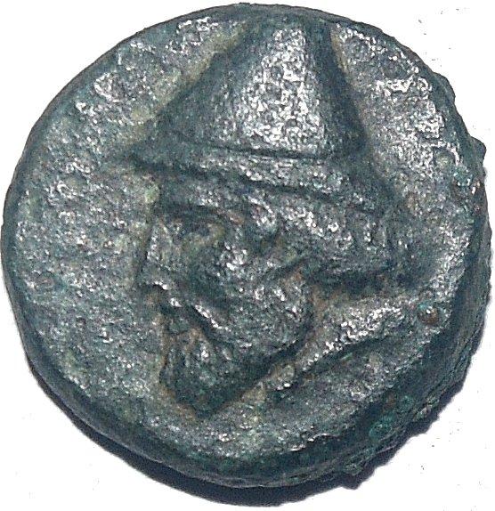 AE18, Troas. Birytis. 350-300 a.C.  61210