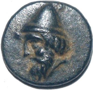 AE12, Troas. Birytis. 350-300 a.C.  61410
