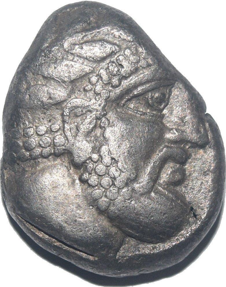 Estatera o Shekel de plata. Fenicia, Arados. Ca 348/7-339/8 a.C.   627a11