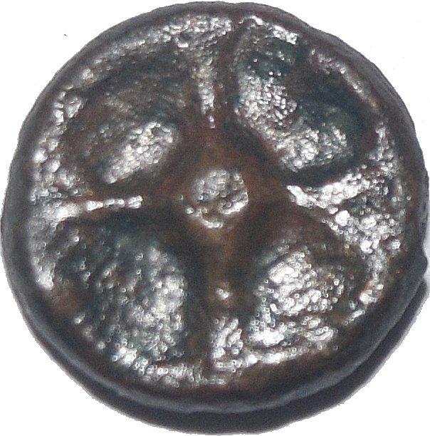 Moneda fundida. Istros (Tracia). 475 y 350 a.C. 634a10