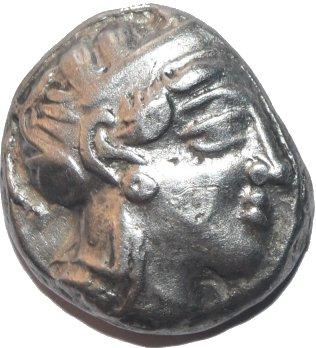Tetradracma Imitando los atenienses. Egipto. Faraon desconocido. Ca siglos V-IV a.C. 644a10